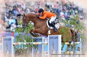 London & Gerco Schroder doubles médaillés d'Argent .