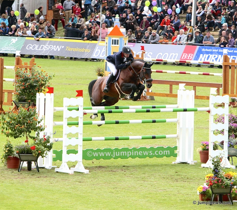 Armitages Boy & A. de Ponnat /Donaueschingen 2013 © jumpinews.com