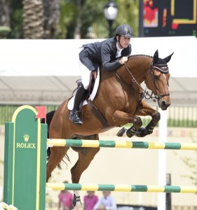 Scott Brash riding Hello Sanctos