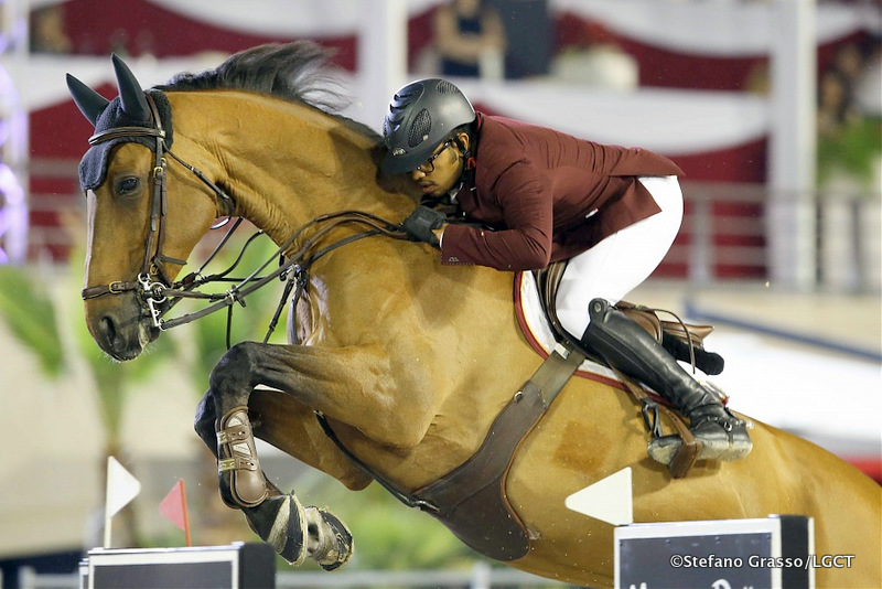 Bassem Hassan Mohammed sur Victoria Stefano Grasso / Longines Global Tour Champions