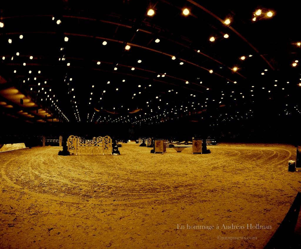 C'était l'un des points de vue d'Andréas Hollmann sur la piste d'Equita'Lyon... R.I.P.