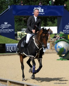 Bolesworth Int. S/Jumping 18.06.15Cl. 3 winner Dermott Lennon on Loughview Lou Lou