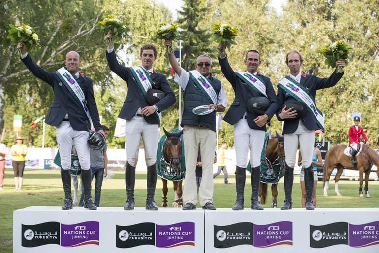 Une belle victoire pour les seconds mousquetaires! ©Photo: Tomas Holcbebcher/FEI