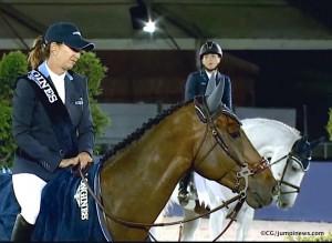 Belle victoire de laura Kraut sous les yeux de la suissesse Chantal Muller qui n'aura pas démérité.