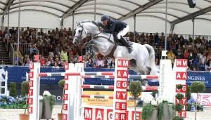 Rdetour gagnant pour Roger-Yves Bost et Pégase ©Foto: St Grasso/LGCT