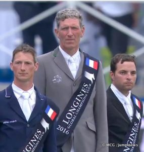 Podium LGCT Chantilly 2016©MCg:jumpinews