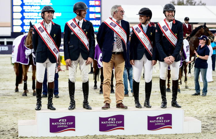 Coupe des Nations al aIN 2017© FEI